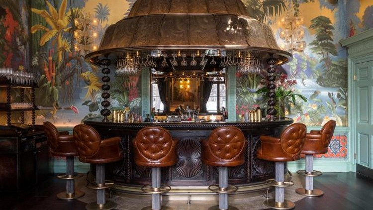 martin brudnizki The Flamboyant Club Annabel's Redesigned by Martin Brudnizki Studio luxury club london inspirations 8