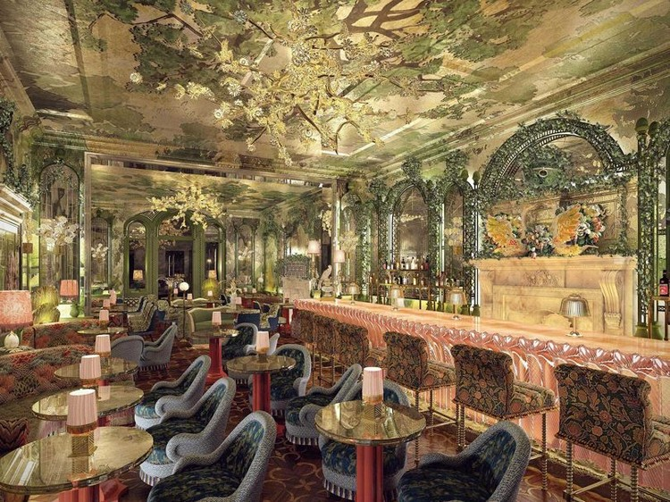 martin brudnizki The Flamboyant Club Annabel's Redesigned by Martin Brudnizki Studio luxury club london inspirations 9