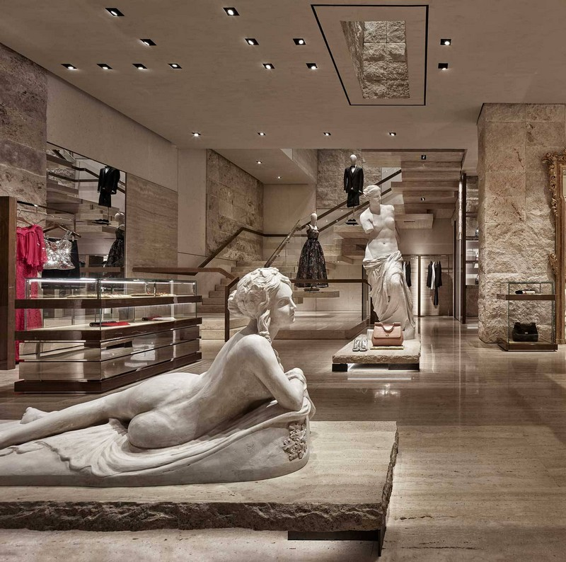 dolce & gabbana New Dolce & Gabbana Store Recreates The Grandeur of Teatro alla Scala luxury store inspirations 1