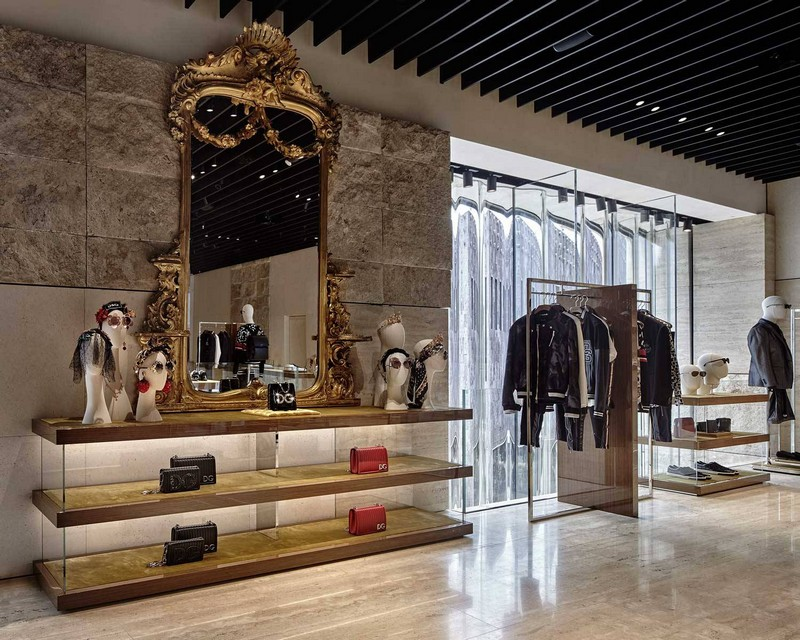 dolce & gabbana New Dolce & Gabbana Store Recreates The Grandeur of Teatro alla Scala luxury store inspirations 10