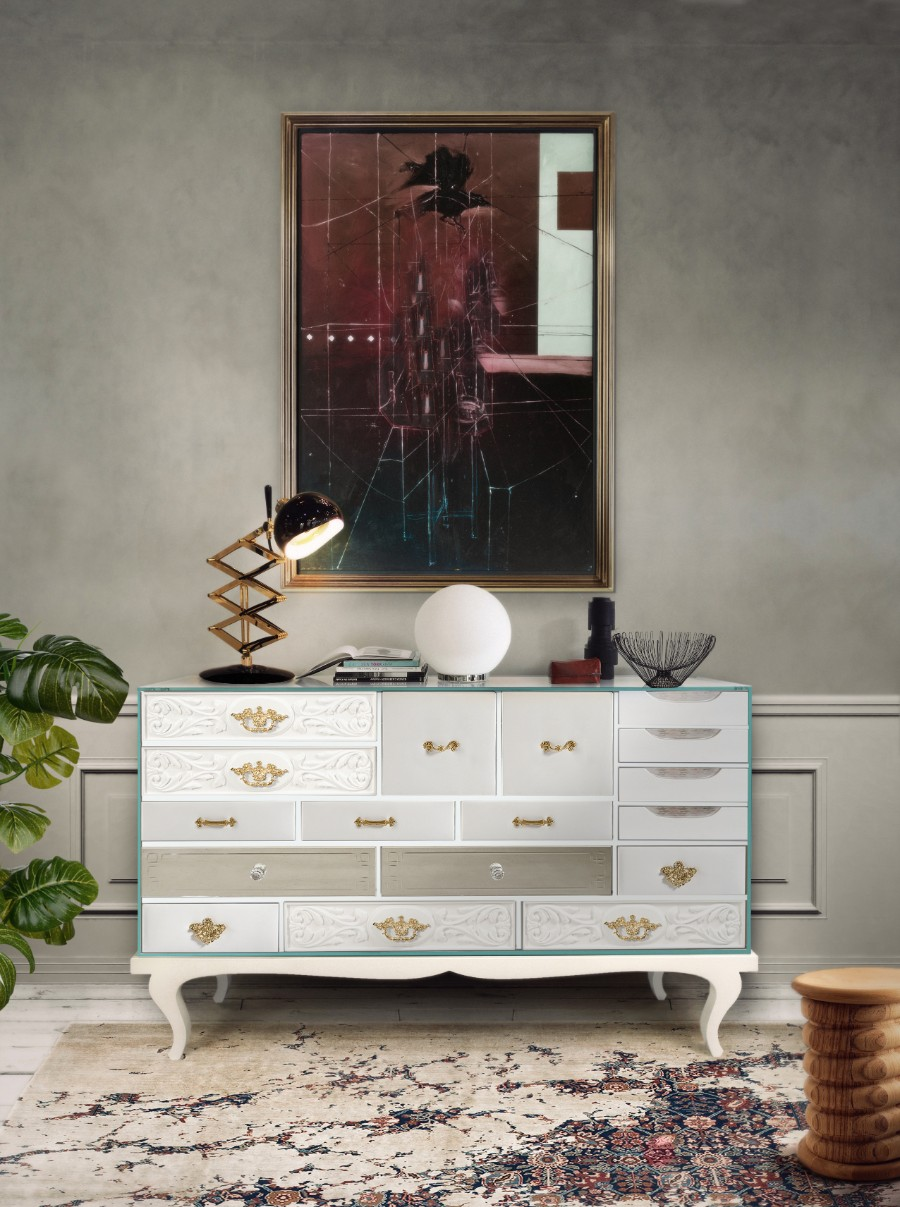design, contemporary cabinet, modern buffets, cabinet design, buffets, cabinets, luxury brands, top interior designer, sideboards,  best interior designers modern buffets 100 Modern Buffets and Cabinets for Your Home Decor soho white 02 1