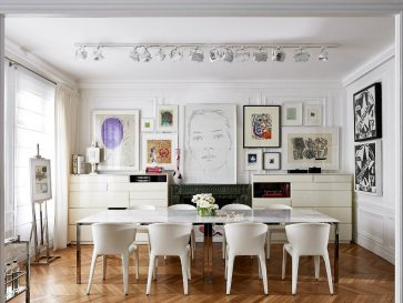 Charming & Modern Home in Paris by Interior Designer Reda Amalou