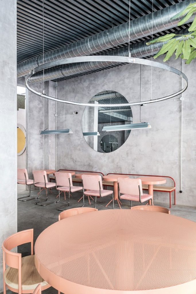 This Modern Restaurant Is Just like Futuristic Film modern restaurant This Modern Restaurant Is Just like Futuristic Film design inspirations2 683x1024