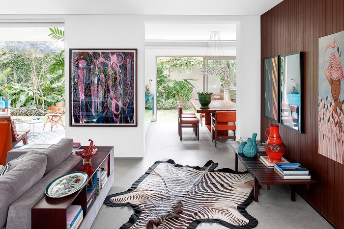 Colorful 70s House Refreshed by Top Interior Designer Guilherme Torres top interior designer Colorful 70s House Refreshed by Top Interior Designer Guilherme Torres guilherme torrer inspirations 8