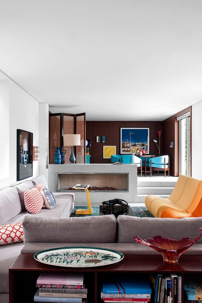 Colorful 70s House Refreshed by Top Interior Designer Guilherme Torres top interior designer Colorful 70s House Refreshed by Top Interior Designer Guilherme Torres guilherme torrer inspirations 9 683x1024