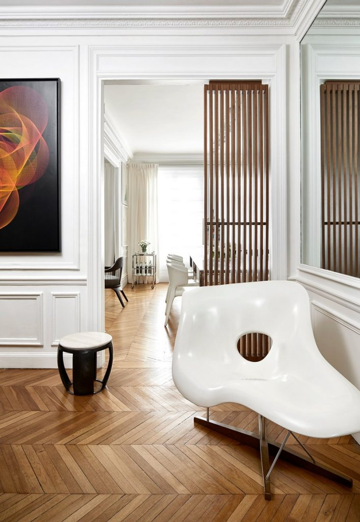 Charming & Contemporary Home in Paris by Interior Designer Reda Amalou interior designer Charming & Modern Home in Paris by Interior Designer Reda Amalou paris apartment inspirations 9 707x1024
