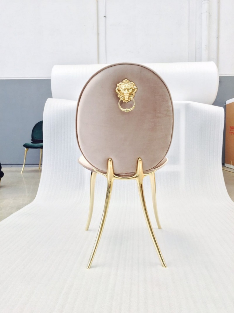 The Animal Spirit of Soleil Chair: Boca do Lobo by New Design: Boca do Lobo Soleil Series, Born in a Glamorous Celebration by Boca do Lobo solei chair 17 768x1024