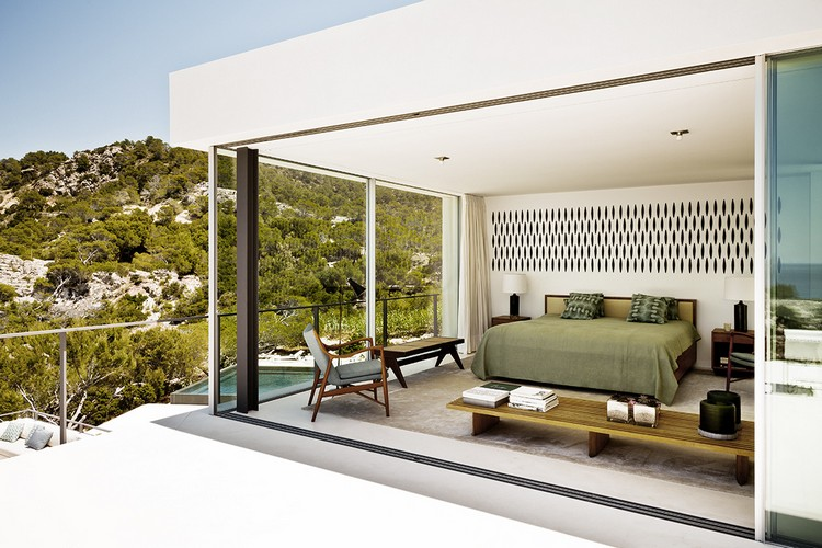 Between Stone, Sky, and Sea: Modern Villa in Ibiza modern Between Stone, Sky, and Sea: Modern Villa in Ibiza ibiza house inspirations 5