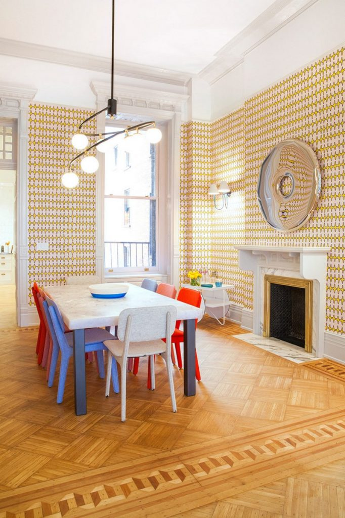 Bright and Modern Interiors Enliven a Historical NY Apartment interiors Bright and Modern Interiors Enliven a Historical NY Apartment manhattan partment inspirations 1 682x1024