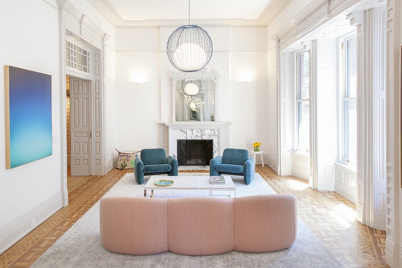 interiors Bright and Modern Interiors Enliven a Historical NY Apartment manhattan partment inspirations 14