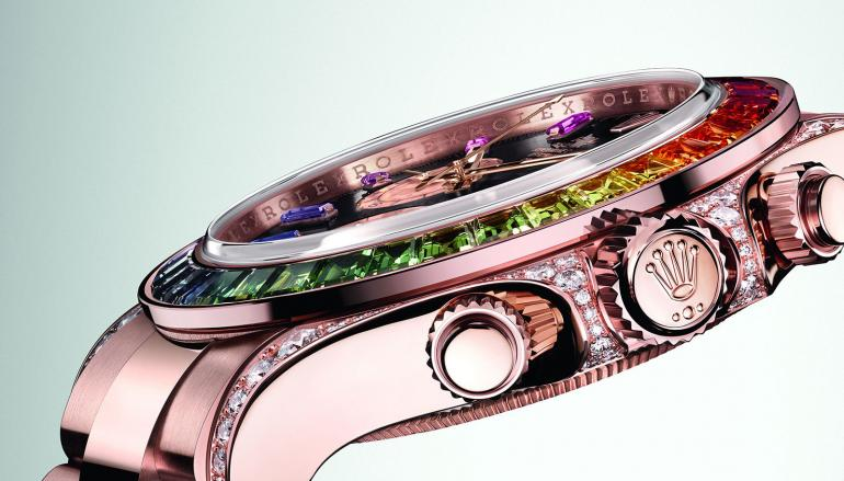 rolex Discover The Cosmograph Daytona 'Rainbow' by Rolex rolex