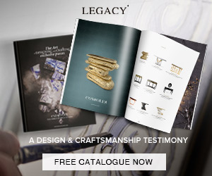 Legacy Boca do Lobo bathroom furniture Newsletter ad blog legacy