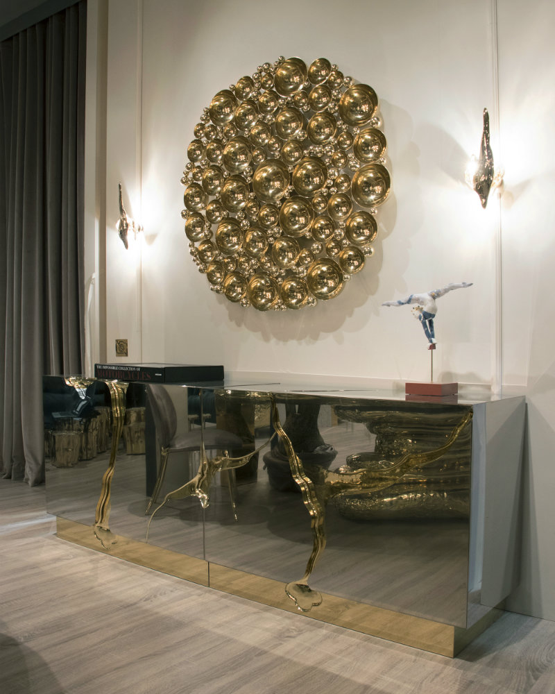 Newton Mirror: When Art Becomes Design Furniture furniture Newton Mirror: When Art Becomes Design Furniture ambience