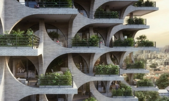 architecture Penda Architecture Unveils Cascading Residential Tower in Tel Aviv cover 2 335x201