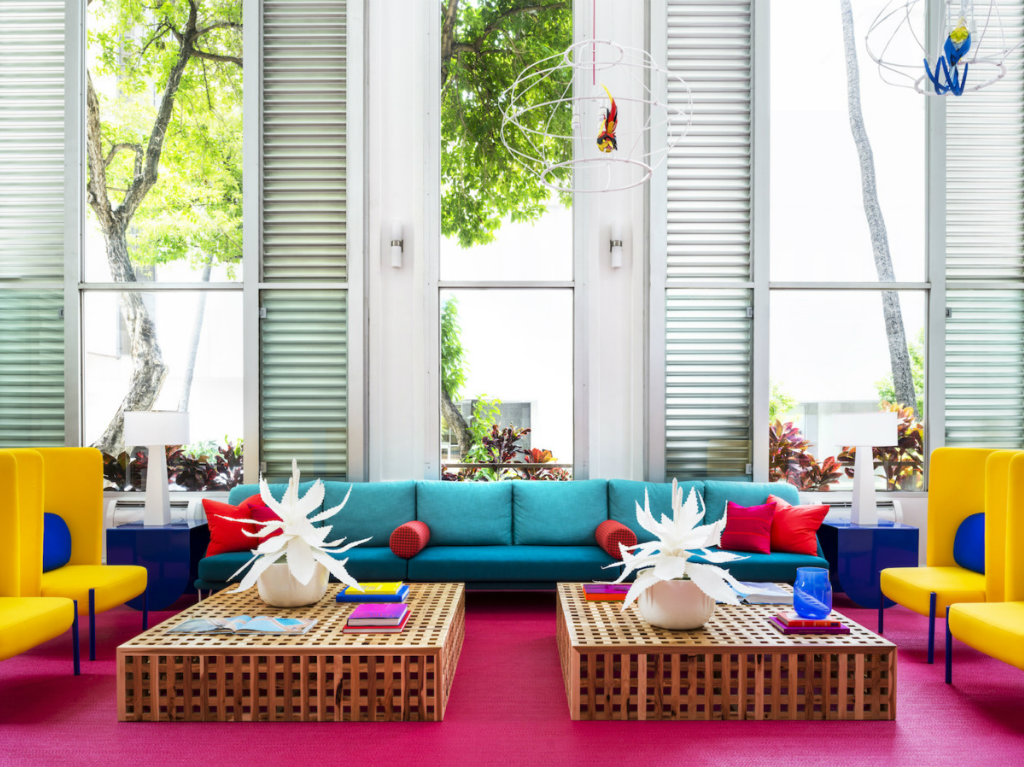 modern hotel A Tropical Explosion of Color in this Hawaiian-Inspired Modern Hotel cover 9