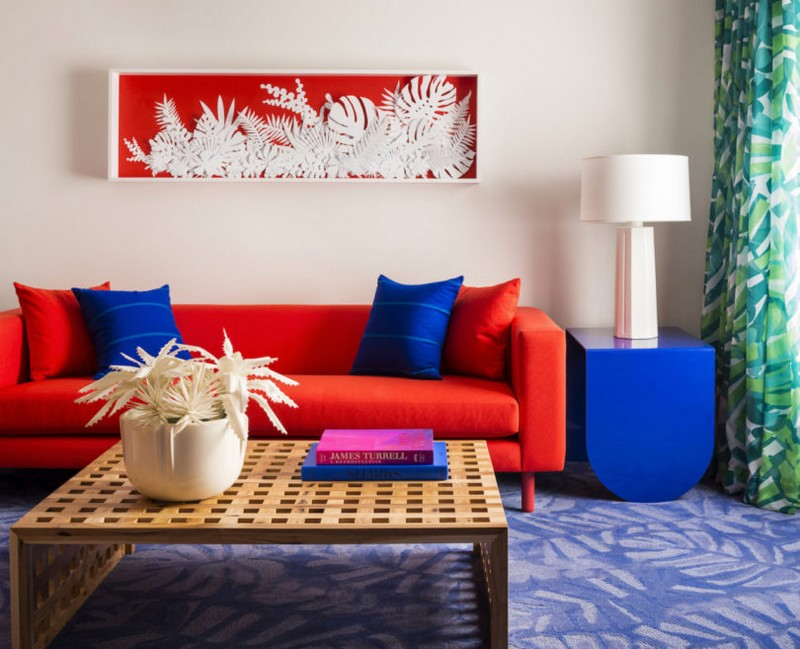 modern hotel A Tropical Explosion of Color in this Hawaiian-Inspired Modern Hotel hawai hotel inspirations 3