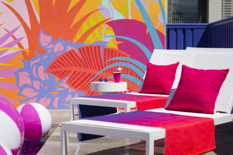 A Tropical Explosion of Color in this Hawaiian-Inspired Modern Hotel modern hotel A Tropical Explosion of Color in this Hawaiian-Inspired Modern Hotel hawai hotel inspirations 6