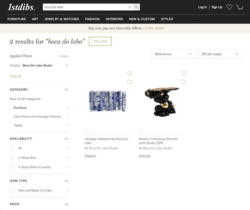 1stDibs - Best Online Furniture Shops best online furniture shops The Best Online Furniture Shops 1stdibs