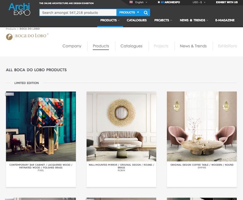 ArchiExpo - Best Online Furniture Shops best online furniture shops The Best Online Furniture Shops ArchiExpo