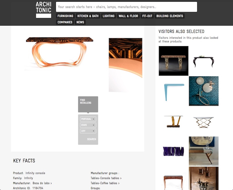 Architonic - Best Online Furniture Shops best online furniture shops The Best Online Furniture Shops architonic