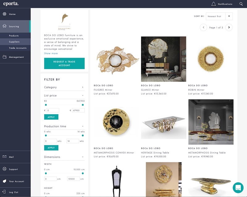 Treniq - Best Online Furniture Shops best online furniture shops The Best Online Furniture Shops eporta