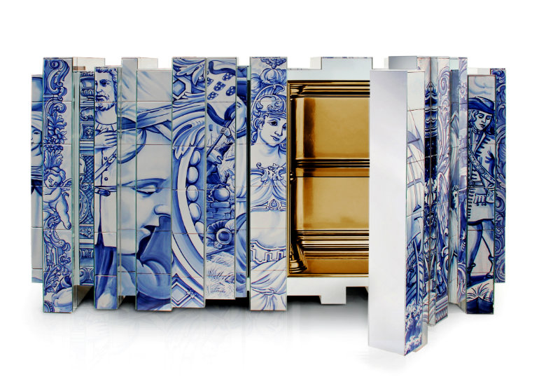 Modern A Modern Art Saved from The Past : Heritage Series by Boca do Lobo heritage sideboard 04