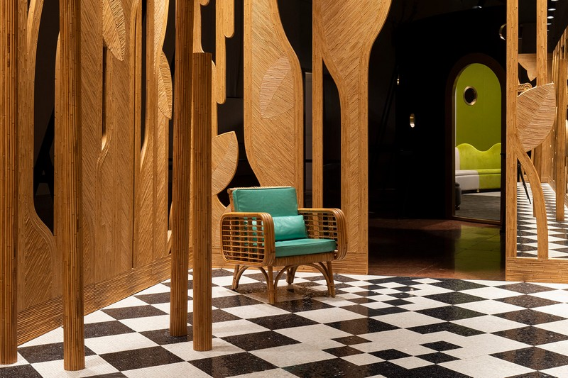 "design  ""Imaginary Architecture"" Design by India Mahdavi at Homo Faber India mahdavi inspirations1"