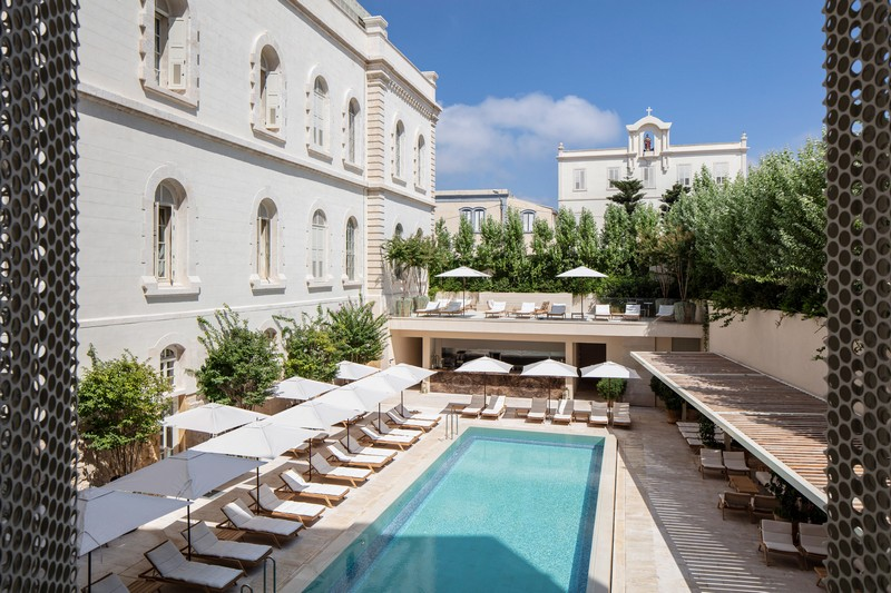 modern hotel John Pawson Transforms Old Monastery into a Modern Hotel in Tel Aviv John Pawson architecture inspirations16