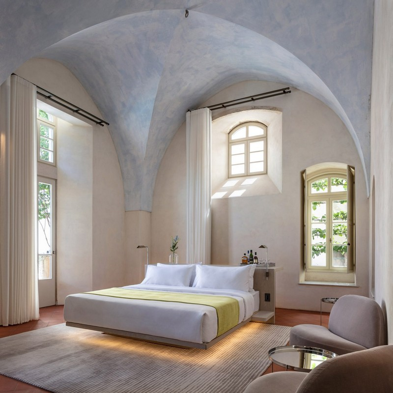 modern hotel John Pawson Transforms Old Monastery into a Modern Hotel in Tel Aviv John Pawson architecture inspirations18