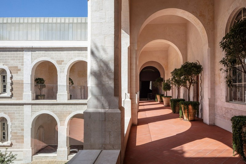 modern hotel John Pawson Transforms Old Monastery into a Modern Hotel in Tel Aviv John Pawson architecture inspirations2
