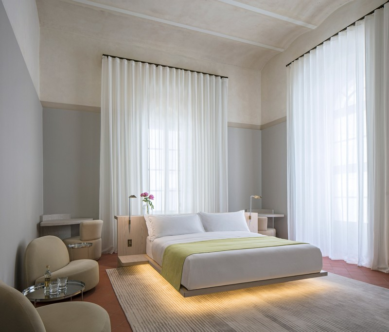 modern hotel John Pawson Transforms Old Monastery into a Modern Hotel in Tel Aviv John Pawson architecture inspirations20
