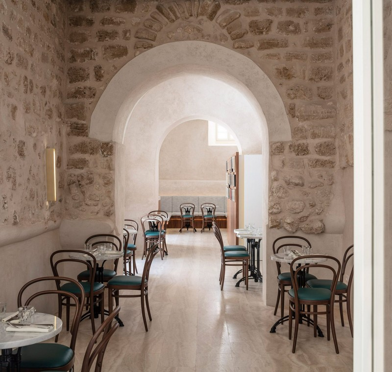 modern hotel John Pawson Transforms Old Monastery into a Modern Hotel in Tel Aviv John Pawson architecture inspirations21