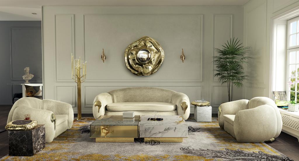 Get The Look Luxurious Living Room, Luxury Living Room Set