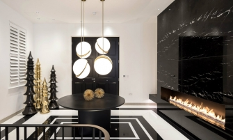 contemporary A Contemporary and Luxury Home in London designed by Kelly Hoppen cover 335x201