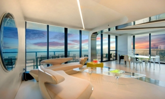 Zaha Hadid Zaha Hadid's One-of-a-kind Sculptured Residence in Miami cover 4 335x201