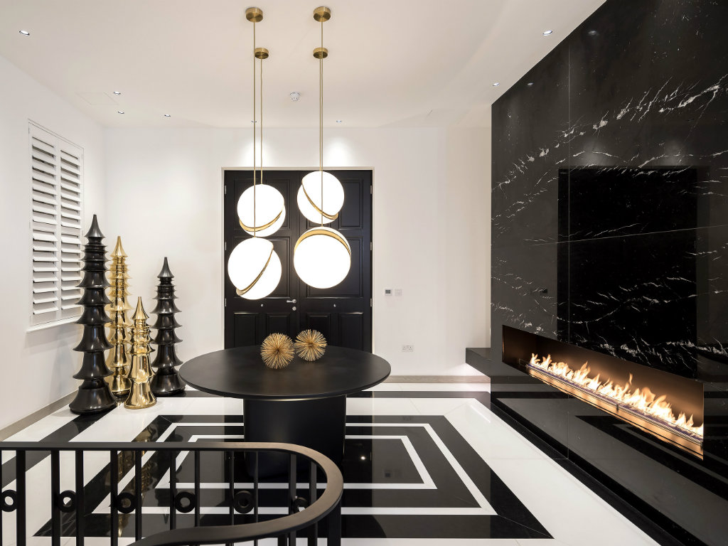 contemporary A Contemporary and Luxury Home in London designed by Kelly Hoppen cover