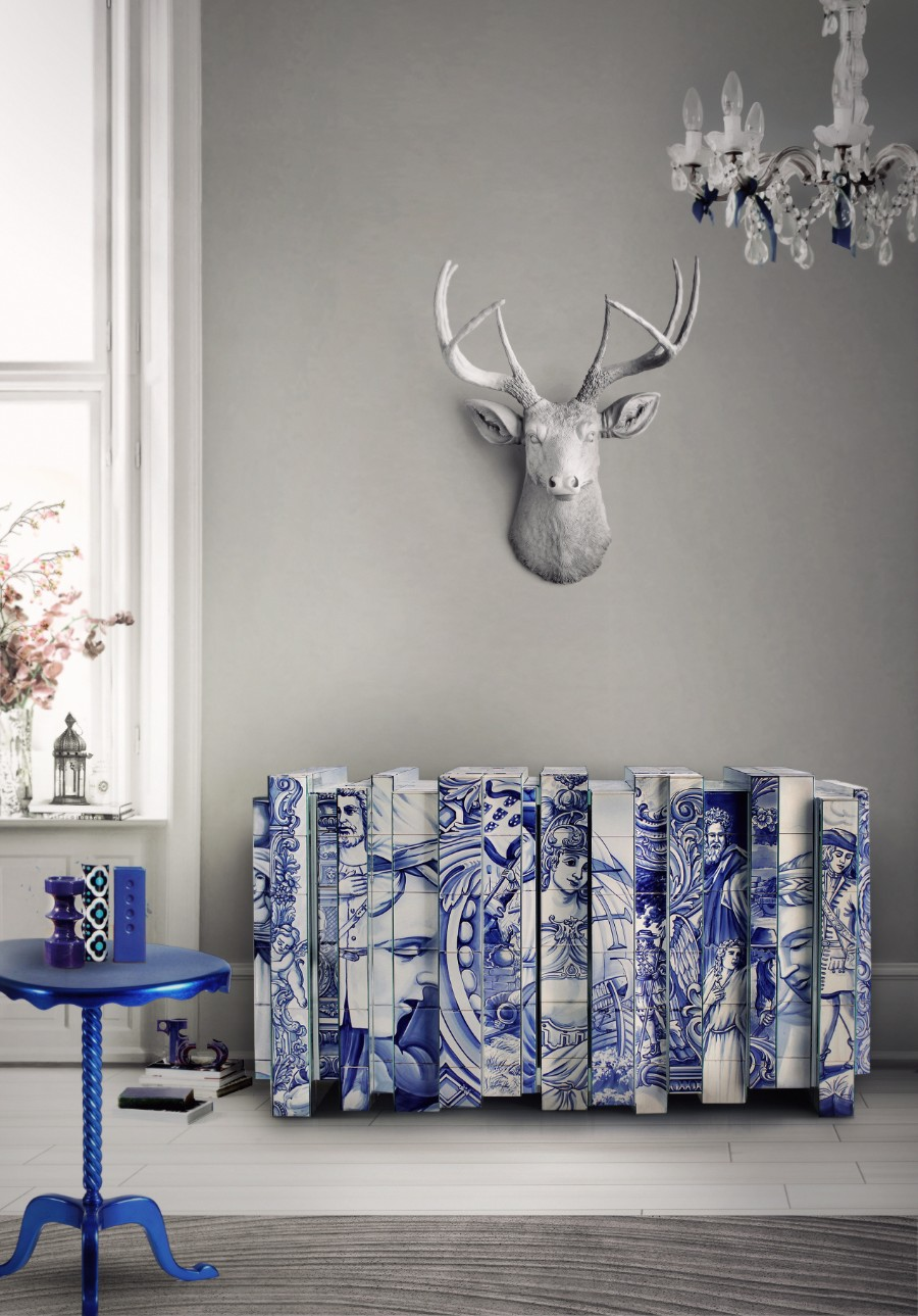 luxury furniture Design China Beijing: Boca Do Lobo's Luxury Furniture Presented by Daisy Collection heritage sideboard