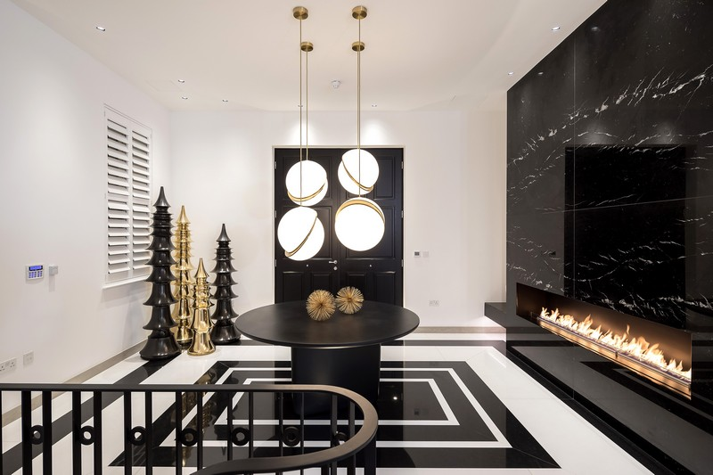A Contemporary and Luxury Home in London designed by Kelly Hoppen contemporary A Contemporary and Luxury Home in London designed by Kelly Hoppen kelly hoppen inspirations1