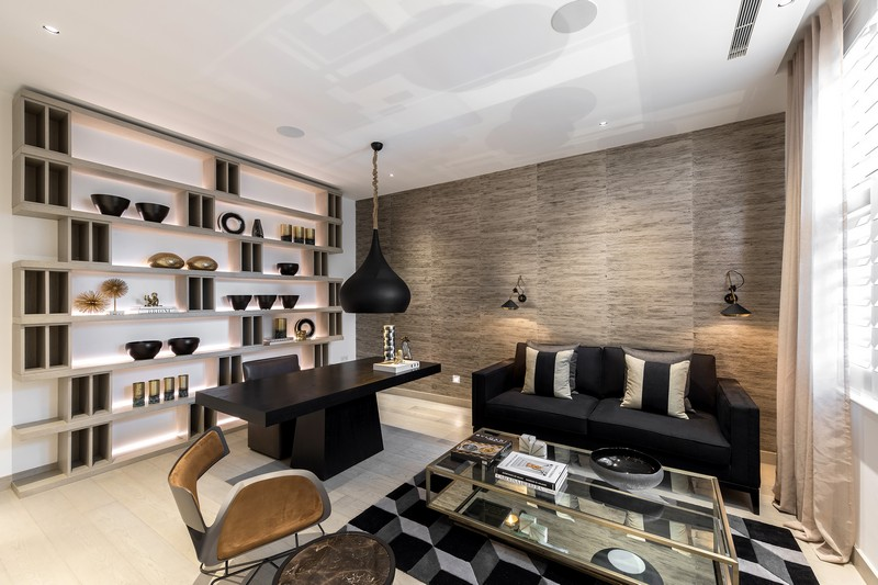 contemporary A Contemporary and Luxury Home in London designed by Kelly Hoppen kelly hoppen inspirations10