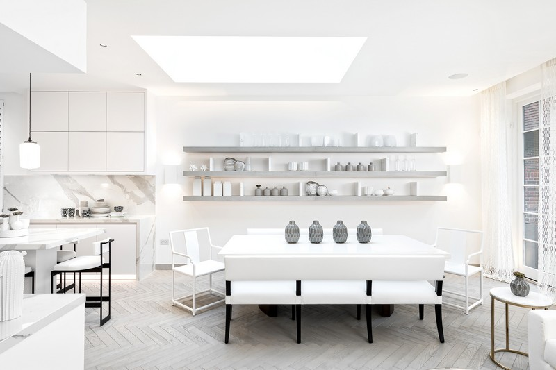 contemporary A Contemporary and Luxury Home in London designed by Kelly Hoppen kelly hoppen inspirations3