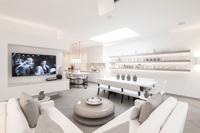 contemporary A Contemporary and Luxury Home in London designed by Kelly Hoppen kelly hoppen inspirations5