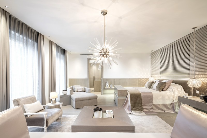 contemporary A Contemporary and Luxury Home in London designed by Kelly Hoppen kelly hoppen inspirations6