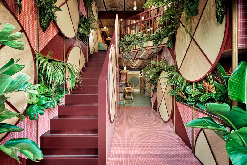 Tropical & Sushi Restaurant - Modern Design by Masquespacio Modern Design Tropical & Sushi Restaurant – Modern Design by Masquespacio masquespacio inspirations1