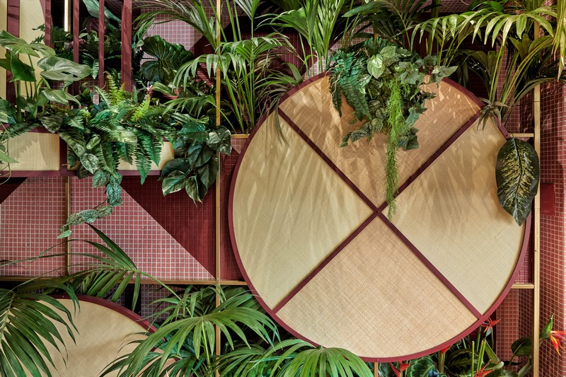 Modern Design Tropical & Sushi Restaurant – Modern Design by Masquespacio masquespacio inspirations2