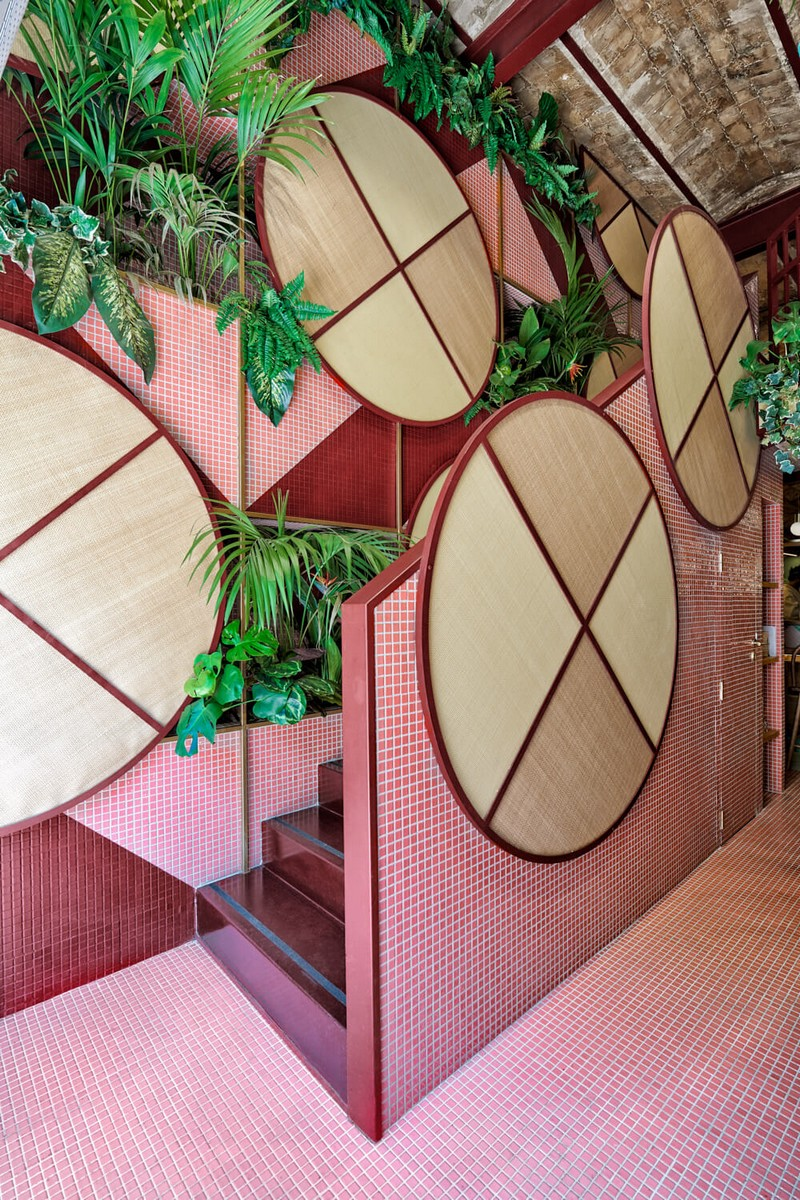 Modern Design Tropical & Sushi Restaurant – Modern Design by Masquespacio masquespacio inspirations21