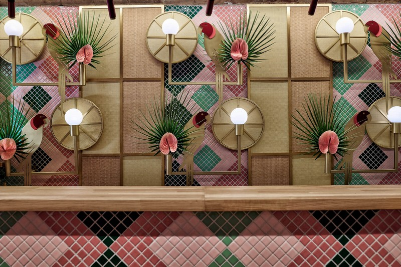 Modern Design Tropical & Sushi Restaurant – Modern Design by Masquespacio masquespacio inspirations5