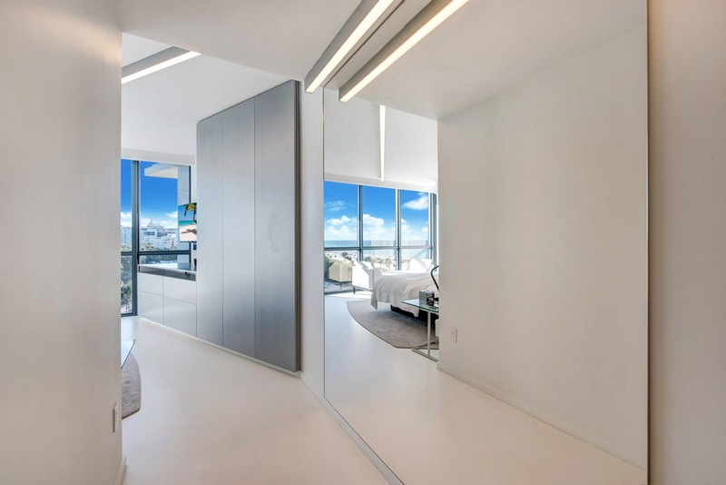 Zaha Hadid Zaha Hadid's One-of-a-kind Sculptured Residence in Miami modern architecture inspirations1