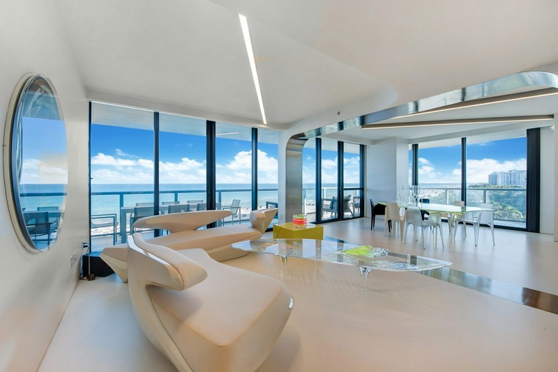 Zaha Hadid's One-of-a-kind Sculptured Residence in Miami Zaha Hadid Zaha Hadid's One-of-a-kind Sculptured Residence in Miami modern architecture inspirations9