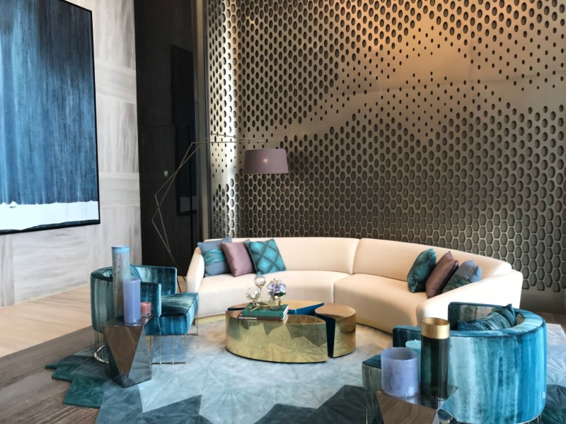 hba Inside HBA Singapore New Design Project At The Trump Tower 8 An Amazing Interior Design Concept At The Trump Towers
