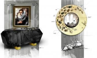 furniture design Dark & Dramatic Furniture Design withLavish Flair COVER BLACK mood 335x201